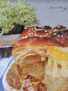 dolce forno: Treccia lievitata all'arancia, yogurt e zenzero
