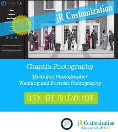 #SmugMug Site of the Week - Chantia Photography #Michigan #Weddings #Portrait Photography.  Read more....
