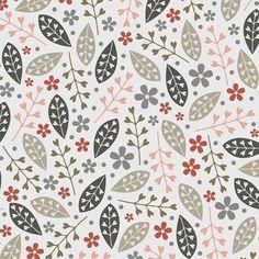 leaf pattern, print & pattern: DESIGNER - suzy taylor