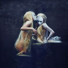 'The waters', by brooke shaden.