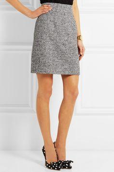 Dolce & Gabbana Tweed mini skirt NET-A-PORTER.COM