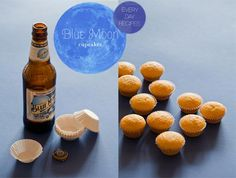 Blue Moon Cupcakes .... Yes please!