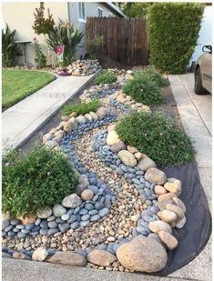 For the Home Rock garden landscaping, Cheap landscaping ideas, Front yard landscaping, Diy garden, B