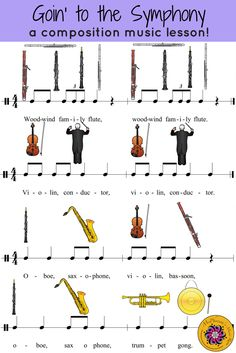 Fun & easy music rhythm, composition and instrument rotation activity to add to your elementary music lesson plans. Engaging eighth note review!