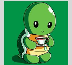 Tea time for Turtle