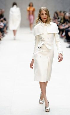 | P | Burberry winter white This looks like Olivia Pope's coat on Scandal
