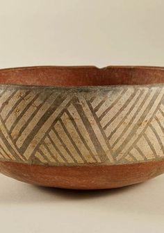 Escudilla decorada Paola Gonzalez, Mexican Ceramics, Inca, Aztec, Decorative Bowls, Arts And Crafts, Pottery, Vintage, Vases