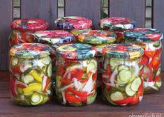 Fresh Rolls, Preserves, Mason Jars, Food And Drink, Stuffed Peppers, Menu, Canning, Vegetables, Healthy