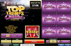 Top Trumps Celebs Scratch Cards Review | Excellent Online Slots and Casinos South Africa
