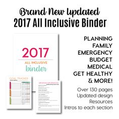 Need help getting a little more organized? Or if you already are organized, why not stay on the right path? With this 130+ page all inclusive binder, you will have everything all in one spot! I've spent the last few years putting together different binders on my site Thirty Handmade Days. People come back over and over to download my binders. I decided it was time to combine them all together and make it easy to have anything you'd ever need in one place. I added a few additional pages and…