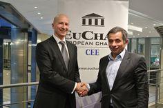 Mr Michele Orzan (President, EuCham); Mr Henri Malosse, (President, European Economic and Social Committee)