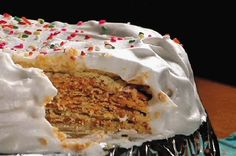 Receta de torta chilena fácil de preparar. Encuentre los ingredientes de las mejores recetas de cocina para preparar nuevos platillos en La Torre Guatemala.