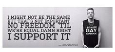 Macklemore knows what he's talking about.