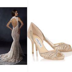 a83e14bce39 Jimmy Choo Lace Pumps.  weddingshoes  perfectpair Lace Pumps