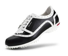 Duca Del Cosma Ladies Golf Shoe Verona Navy/White | #Golf4Her #GolfShoes #Fall2014