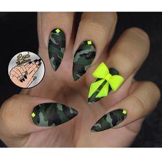 Camo by leximartone - Nail Art Gallery nailartgallery.nailsmag.com by Nails Magazine www.nailsmag.com #nailart