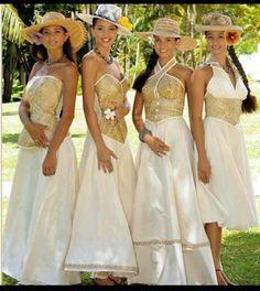 Island style dresses!