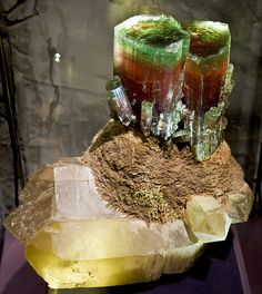 Tourmaline Majesty by Orbital Joe in Smithsonian Natural History Museum
