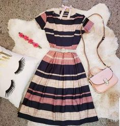 Moda Vintage Style Outfit 17 Ideas For 2019 Modest Dresses, Modest Outfits, Skirt Outfits, Pretty Dresses, Trendy Outfits, Beautiful Dresses, Cool Outfits, Modest Clothing, Women's Clothing