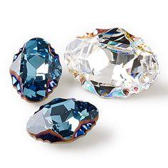 NEW #Swarovski crystal Oval Tribe Fancy Stone, designed by filmmaker &…