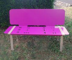 guyon banc ludeo amenagement ecole mobilier urbain / guyon LUDEO bench school arrangement street furniture Street Furniture, Kids Furniture, Outdoor Furniture, Outdoor Decor, Bench, School, Kid, Furniture For Kids, Desk