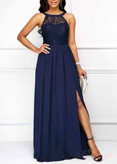 Do you wonder the best way to outfit stylish? I'll walk you via the ins and outs of designing your-self with a more complex, stylish, and classy trend. Bridal Party Dresses, Club Party Dresses, Side Slit Maxi Dress, Dress Skirt, Navy Dress, Casual Dresses, Fashion Dresses, Long Bridesmaid Dresses, Bride Dresses