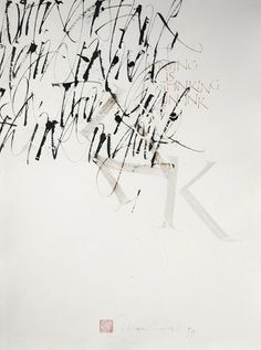 Writing Is… Calligraphy by Massimo Polello