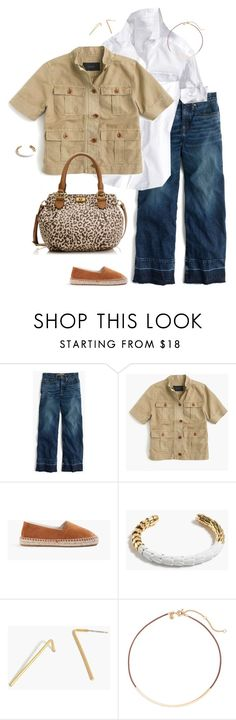 """""""Untitled #4131"""" by shopwithm ❤ liked on Polyvore featuring Point Sur, J.Crew and Madewell"""