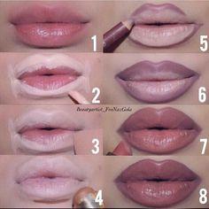 Kylie Jenner Lip Tutorial - Step By Step
