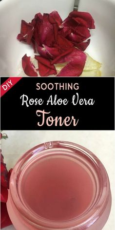 DIY Soothing Rose Aloe Vera Toner  Skiny Health
