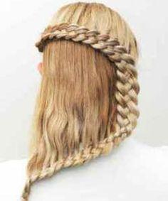 Прически из кос - коса змейка