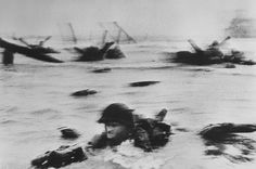 FRANCE. 1944. Normandy. Omaha Beach.