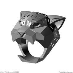 Print ready printable 3d computer model cat ring, available at The3dStudio.com, the oldest and largest 2D and 3D resource site on the internet. Fast and personal customer service from our own support staff 7 days a week—no autoreply or canned responses.