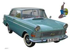 Opel Rekord P2 (Originalfarbe)