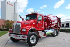 Kenworth Cement Mixer Trucks #heavyhauling