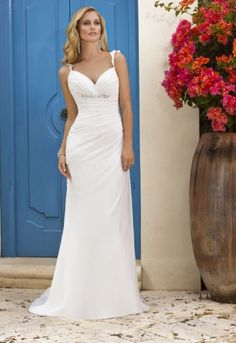 Find your dress with ease at Fleur de Lys Bridal. At our boutique, we fit dresses for all body types including; petite, plus-size, busty, lean-and-straight and hourglass. So, whatever body type you are, call us on 01799 526982 today.