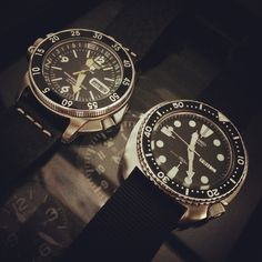 Both are lovely Seiko, one is now and the other vintage.