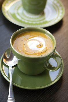Butternut Squash & Red Lentil Soup