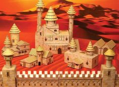 Fantasy Medieval Town Paper Craft