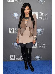Kim Kardashian and her sexiest fashion looks!