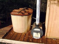 Build your own wood fired hot tub, with step by step instructions at Mother Earth News.
