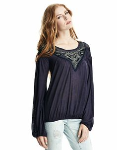 Women's Apparel   Blouses & Button Downs   Banded Bottom Top   Lord and  Taylor