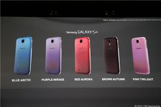 Samsung offers more color variety for Galaxy S4