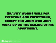 Haha! Lol, poor John. Also, yay a writing prompt which is actually well written!