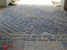 Want a classic European look and feel? Belgard's Old World Stone paver brings the look of the quaint, cobble roads of Europe. Outdoor Spaces, Outdoor Living, Belgard Pavers, Paver Designs, Paver Stones, Walkway, Old World, Curb Appeal, Natural Stones