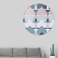 Discover «Scandi Waves», Limited Edition Disk Print by DesigndN - From 240€ - Curioos