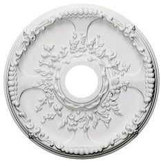 Ceiling Medallions Lowes Ekena Millwork Vienna 20In X 20In Polyurethane Ceiling Medallion
