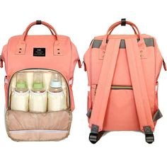 Fashionable Travel Backpack for Baby Care