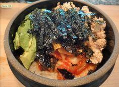 Kimchi-Oatmeal Salmon bowl
