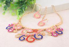 Nuevo collar colorido para empezar la primavera y preparar el verano!!!. Pendientes a juego incluidos.  www.ckcomplementos.es